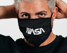 2-Pack NASA Black Face Mask - Headzone