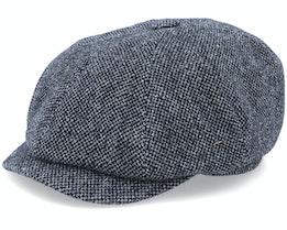 Seven Dover Black Flat Cap - MJM Hats