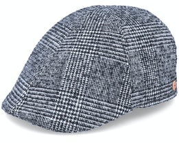 Paddy Casual Black Flat Cap - Mayser