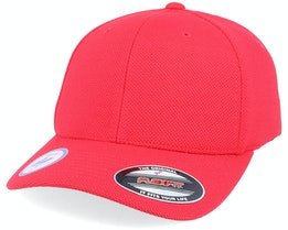 Cool & Dry Pique Mesh Red Flexfit - Flexfit