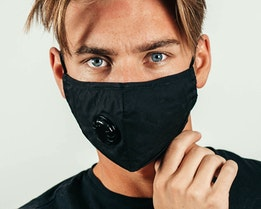 Non Medical Cotton Mask Black Face Mask - Equip