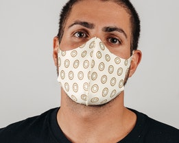 1-Pack Kiwi Face Mask - Zeri