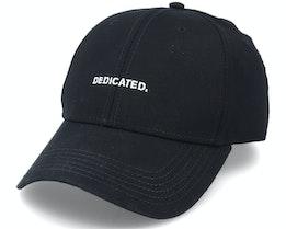 Sport Cap Logo Black Adjustable - Dedicated