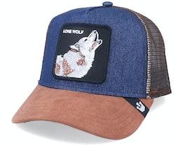 Hatstore x Exclusive Wolf Denim Trucker - Goorin Bros.