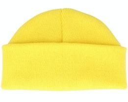 Yellow Short Beanie - Beanie Basic