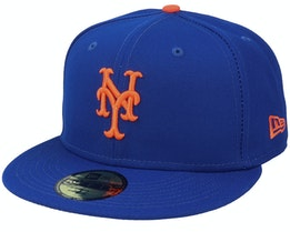 New York Mets Authentic On-Field 59Fifty Blue Fitted - New Era