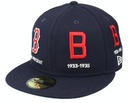 Boston Red Sox 59FIFTY Life Quickturn Navy Fitted - New Era