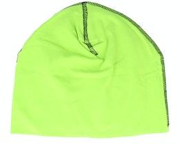 Lime Green/Black Hemsedal Cotton Beanie - Beechfield
