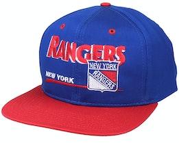 New York Rangers Classic NHL Vintage Blue/Red Snapback - Twins Enterprise