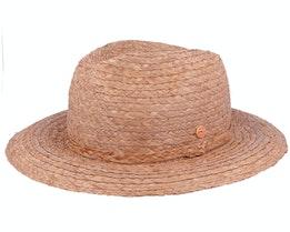 Gedeon Raffia Taupe Straw Hat - Mayser