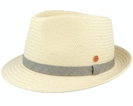 Troy Paper P Natur Trilby - Mayser