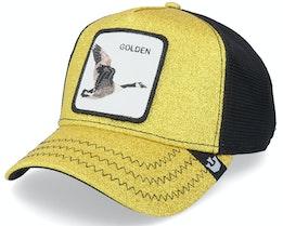 Golden Egg Glitter Gold/Black Trucker - Goorin Bros.
