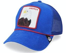 America For Real Blue Trucker - Goorin Bros.