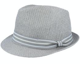 Tom Killian Grey Trilby Straw Hat - Goorin Bros.