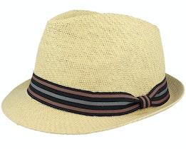 Tom Killian Stone Trilby Straw Hat - Goorin Bros.
