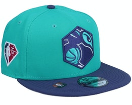 Charlotte Hornets NBA21 Draft Em 9FIFTY Teal Snapback - New Era