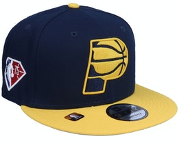 Indiana Pacers NBA21 Draft Em 9FIFTY Navy Snapback - New Era