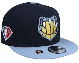 Memphis Grizzlies NBA21 Draft Em 9FIFTY Black Snapback - New Era