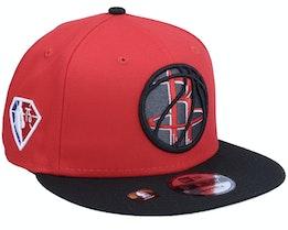 Houston Rockets NBA21 Draft Em 9FIFTY Red Snapback - New Era