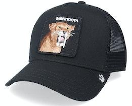 Hatstore Exclusive x Sabertooth Black Trucker - Goorin Bros.
