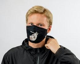 1-Pack Moon Talker Black Face Mask - Goorin Bros.