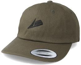 Black Logo Olive Dad Cap Adjustable - Sneakers