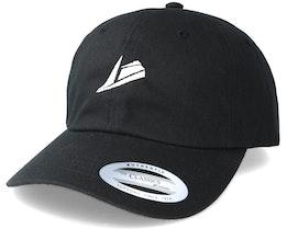 White Logo Black Dad Cap Adjustable - Sneakers