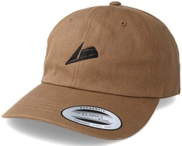 Black Logo Beige Dad Cap Adjustable - Sneakers