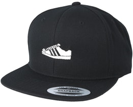Black/White Shoe Black Snapback - Sneakers
