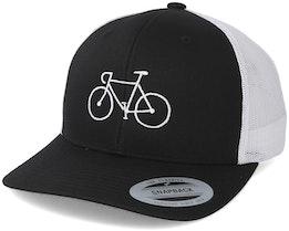 Classic Bike Black/White Trucker - Bike Souls