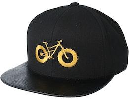 Fat Bike Carbon/Gold Snapback - Bike Souls