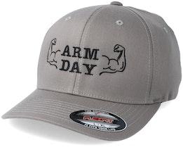 Arm Day Grey Flexfit - Berzerk