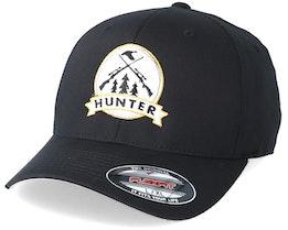 Rifles Badge Black Flexfit - Hunter