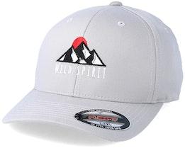 Logo WS Silver Flexfit - Wild Spirit