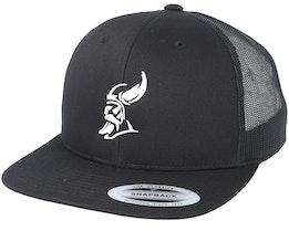 Silhouette Black Trucker - Vikings