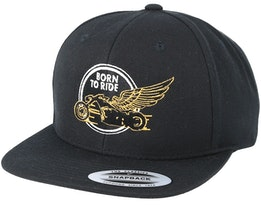 Just Fly Away Black Snapback - Born To Ride