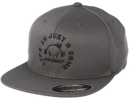 Life Is Just A Game Grey Fitted - Gamerz