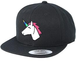 Unicorn Black Snapback - Unicorns