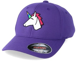 Kids Unicorn Purple Flexfit - Unicorns