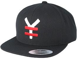 Yen Red/White/Black Snapback - Yapan