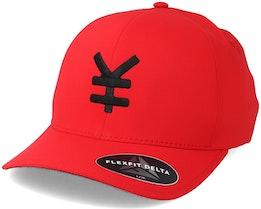Yen Delta Red/Black Flexfit - Yapan