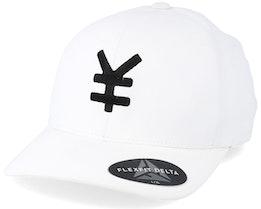 Yen Delta White/Black Flexfit - Yapan