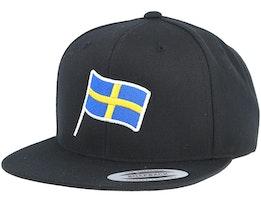 Sweden Flag Black Snapback - Forza