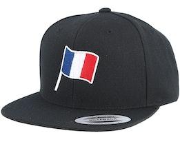 France Flag Black Snapback - Forza