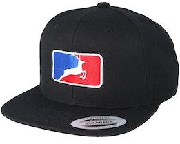 MLB Deer Black Snapback - Hunter