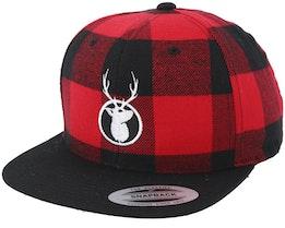Kingdeer Red/Black Snapback - Hunter