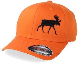 Side Moose Orange Flexfit - Hunter