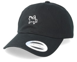 Little Unicorn Black Dad Cap - Unicorns