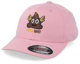 Kids Holy Shit Pink Flexfit - Kiddo Cap
