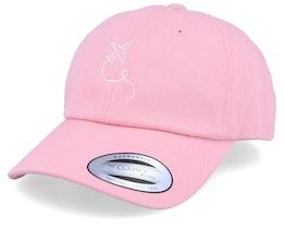 Airplane Pink Dad Cap Adjustable - Bacpakr
